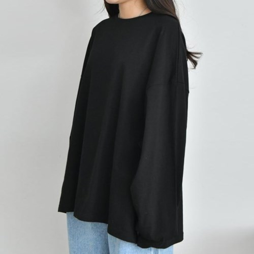 그레이썸 듀스 루즈핏 롱 박시 티셔츠