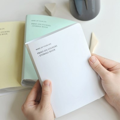 [MU] Storage book (4 colors) _ 라이트퍼플 추가