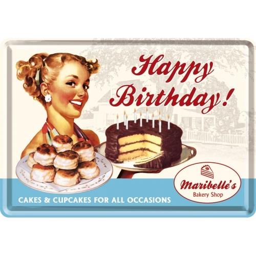 노스텔직아트[10101] Happy Birthday Cake