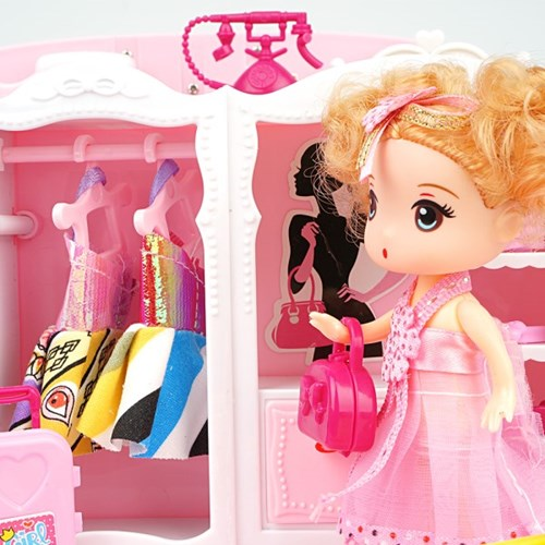 스위티 가방집 인형의집 역할놀이 유아 장난감