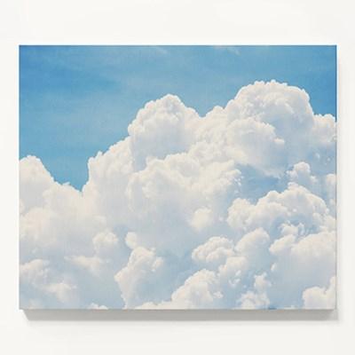 캔버스 풍경 사진 인테리어 아이방 액자 뭉게 구름 B