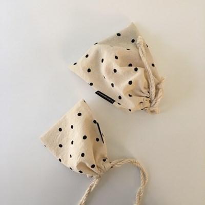아기 도트 파우치(baby dot pouch)