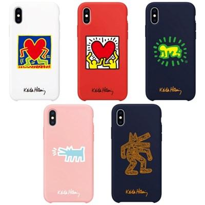 SKINU x Keith Haring 컬러젤리케이스