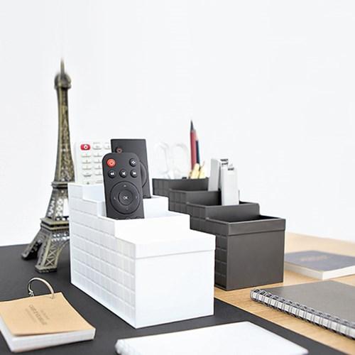 일본생산 리모컨수납 오피스 데스크 오거나이저 STAIR_(1006962)