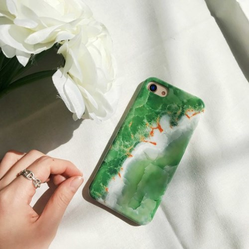 (잘된케이스) leaf stitch phone case