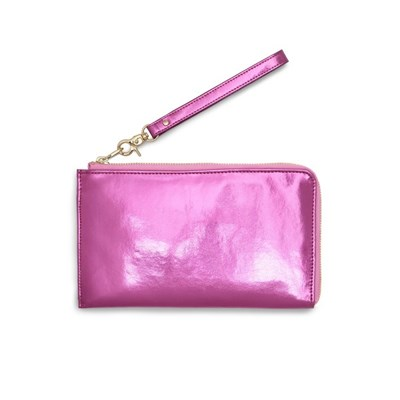 GETAWAY TRAVEL WALLET - METALLIC PINK (여행클러치)