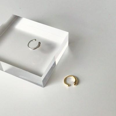 [92.5silver 이어커프 귀걸이] 볼드커프 이어링