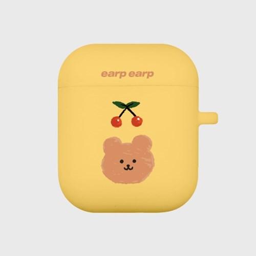 Cherry bear-yellow(Air Pods)_(1119626)