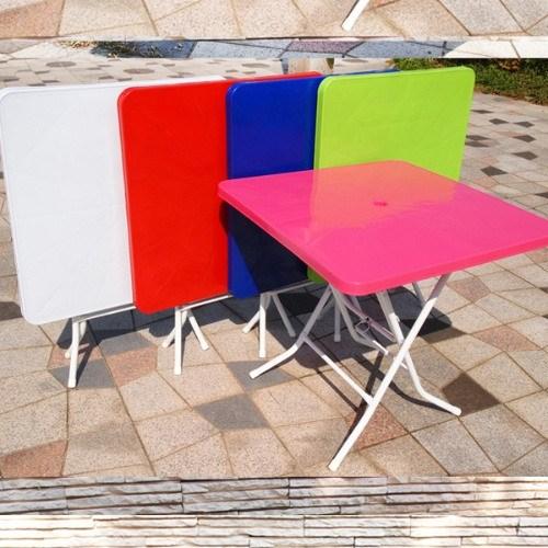 국내산 파라솔 사각테이블/편의점테이블/야외테이블
