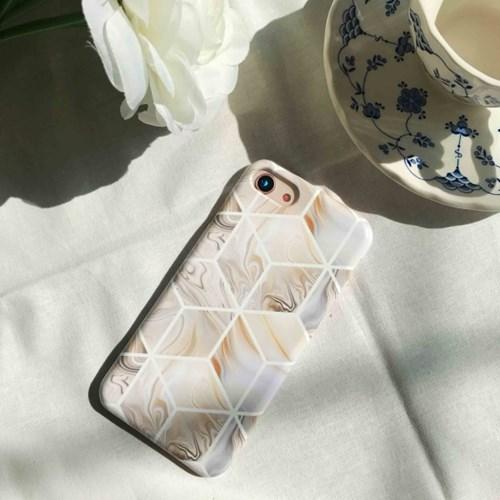 (잘된케이스)  spruce marble phone case