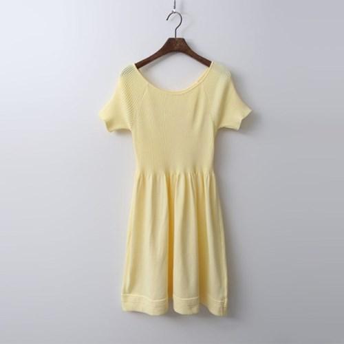 Reina Knit Mini Dress