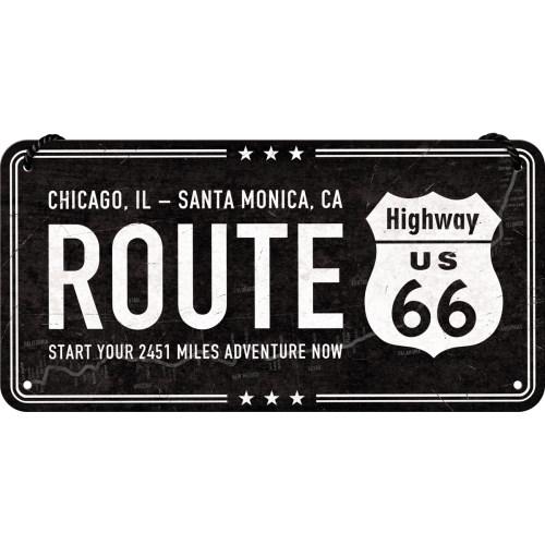 노스텔직아트[28025] Highway 66 Black