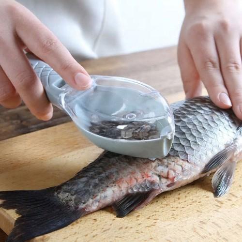 기본형 포켓형 생선 비늘제거기1개(색상랜덤)