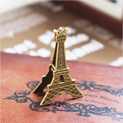 기본형 에펠탑 E메모꽂이1개(색상랜덤)