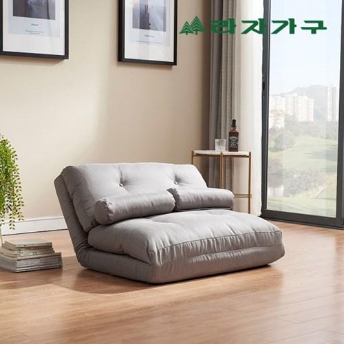 이자벨 패브릭 접이식 쇼파베드-쿠션 2개 포함_(1126499)