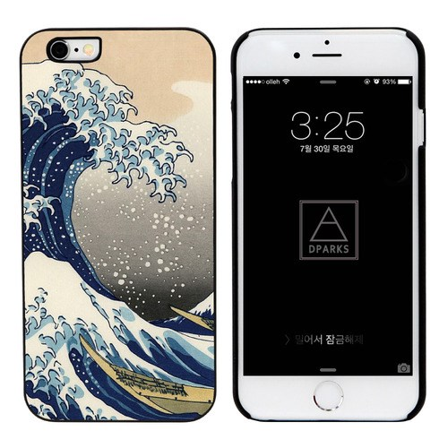 HOKUSAI GREAT WAVE BLACK CASE_(1170235)