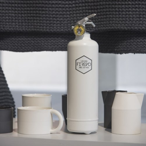 피레보(FIREVO) 디자인 소화기 스탠다드화이트 컬러
