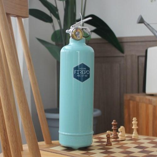 피레보(FIREVO) 디자인 소화기 스피아민트 컬러