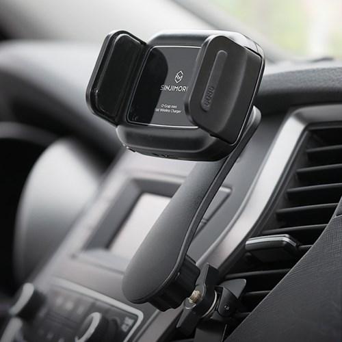 오그랩미니 차량용 무선충전 핸드폰 자동거치대