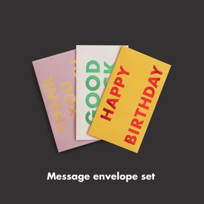 O,LD! Message Envelope Set