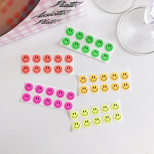 Mini Smile Sticker (60개)