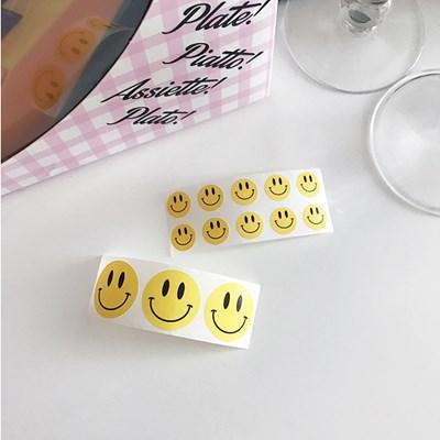 Yellow Smile Sticker 옐로우스마일스티커