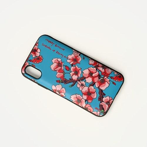 벚꽃 / 블루 (멀티케이스)