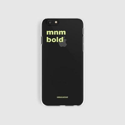 [스리살짝] minimal and bold clear ver2 (2color)