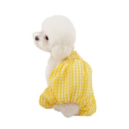 에덴숑-Frill pumpkin pants-Yellow(프릴 펌킨 팬츠)