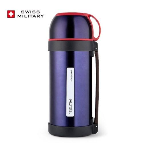 [스위스밀리터리] OKK 대용량보온병 SMT1-1600_블루