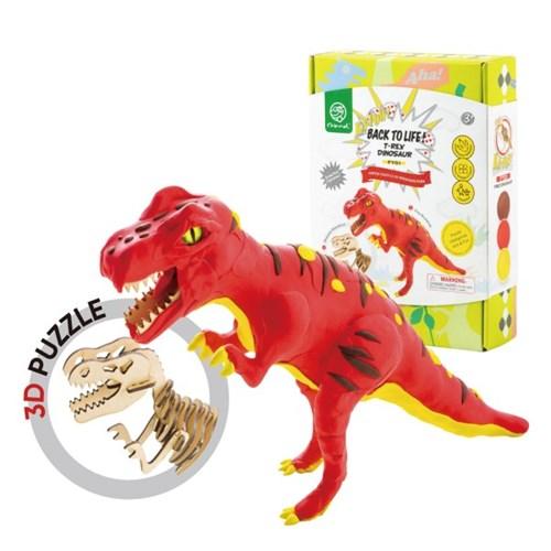 해피플레이 로버드 입체퍼즐 공룡 클레이 티라노사우루스
