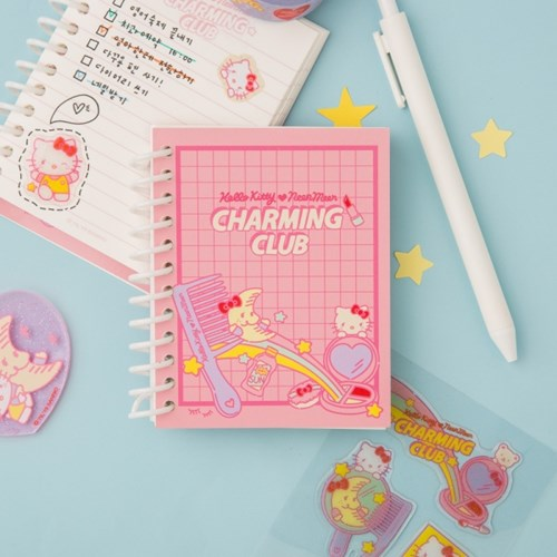 [텐바이텐 단독] HELLO KITTY CHARMING CLUB Spring Note