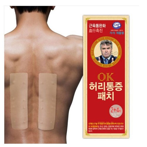 OK 허리통증 동전패치(2+리필4매)_(2244965)