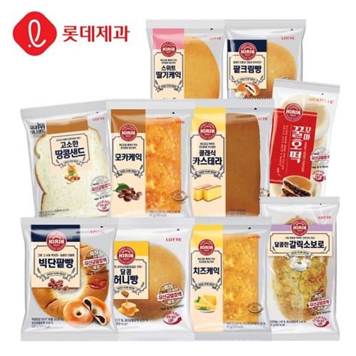 롯데제과인기 빵 10종 10개 구성_(1943734)