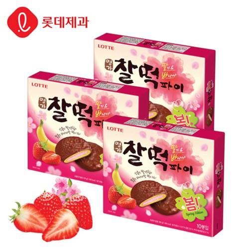 찰떡파이 딸기바나나 300g(10봉입)X3개_(1943732)