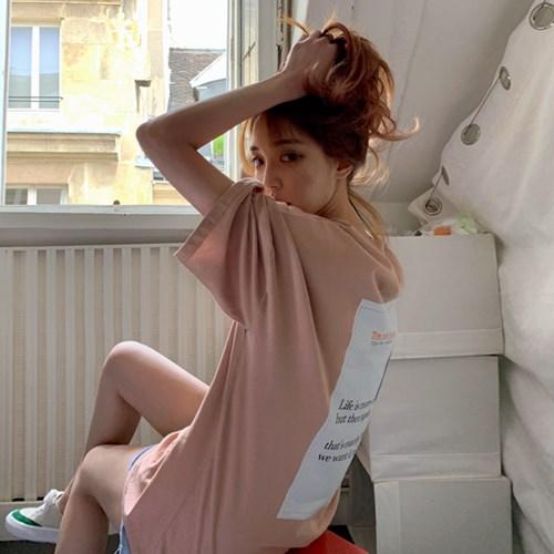 [MADE] 백포인트 오버핏 반팔티 (3colors)