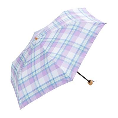 Because 빈티지 체크 양산