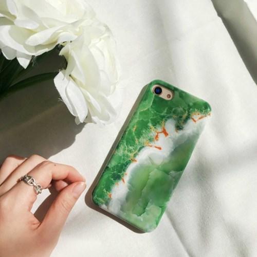 (잘된케이스) leaf stitch phone case