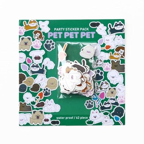 파티 스티커팩 PET PET PET