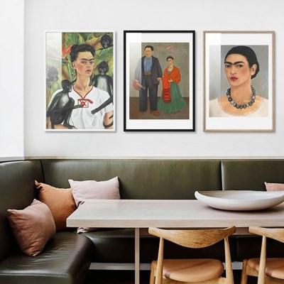 프리다칼로 그림 12종 유니크 카페 상가인테리어 액자소품