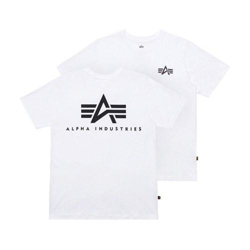 알파인더스트리 스몰 로고 반팔 티셔츠 WHITE_(201817928)