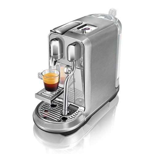 [네스프레소] 크리아티스타 플러스 J520 고급 캡슐 커피머신 실버