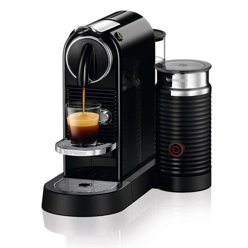 [네스프레소] 시티즈앤밀크 D123 에스프레소 캡슐 커피머신 블랙