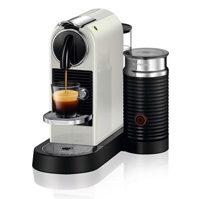 [네스프레소] 시티즈앤밀크 D123 에스프레소 캡슐 커피머신 화이트