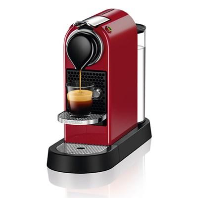 [네스프레소] 시티즈 C113 에스프레소 캡슐 커피머신 레드
