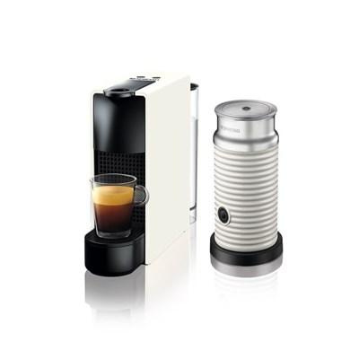 [네스프레소] 에센자미니 C30+에어로치노 캡슐 커피머신 WH+WH