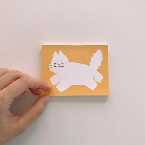 Cat 메모패드