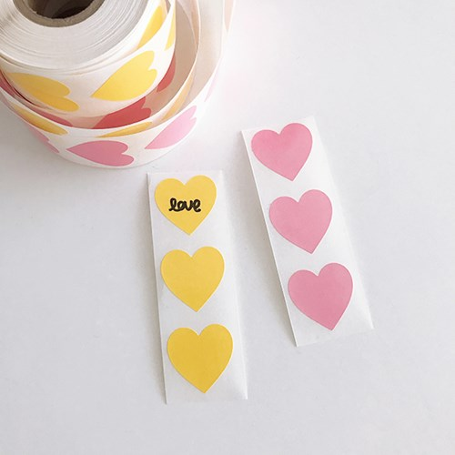 Big Heart Sticker 빅하트스티커 (20개)