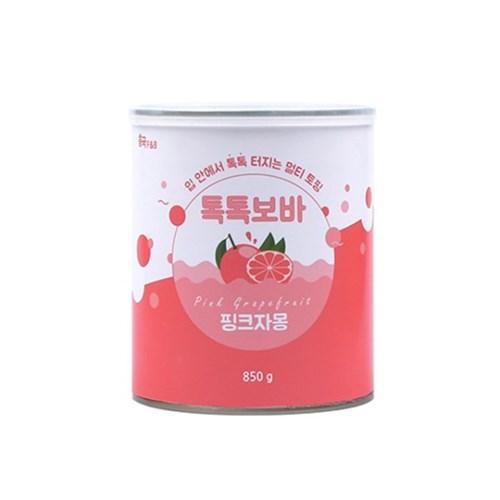흥국 톡톡보바 핑크자몽 850g_(826005)
