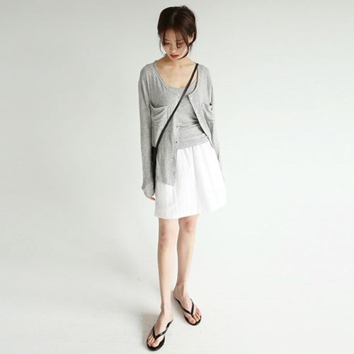 slim line cardigan set (3colors)_(1260387)